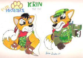 Krin :present and future: by SilverSimba01