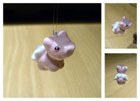 Flying Pig Charm by hatenaki-yume