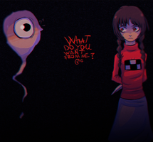 what do you want from me? by INSANEISANE