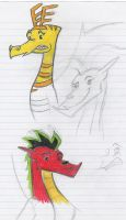 """Fred and Jake """"Sketches"""" by Josabella"""