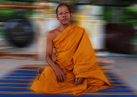 Thailand - Monk by lux69aeterna