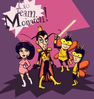Team Monarch by lupienne