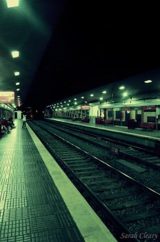 Train station in Torremolinos by SarahCleary