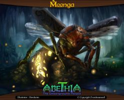 Moonga - Giant Firefly by moonga
