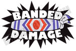 Commission: BANDED DAMAGE v2 + SHIRTS/HOODIES! by ky-nim