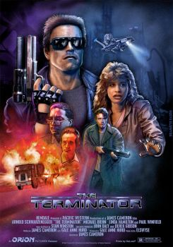 The Terminator Theatrical Poster by Elswyse
