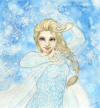 Elsa the Snow Queen by Limei-chan