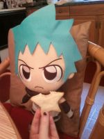 Black Star with Biscuit by ChibiKitsune-hime