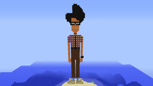 The IT Crowd Pixel Art: Moss by loucacoles