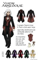 Vampire Aristocrat Coat by CraftyWingy