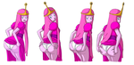 Princess Bubblebutt by Axel-Rosered