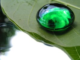 Green Droplet by eyeJ