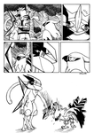 Talonflame and Greninja Page 1. by Rohanite