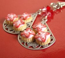 Strawberry Tear Drops by PetitPlat