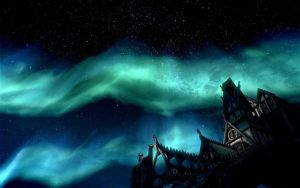Night in Whiterun by Gaachan