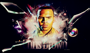 Chris Brown Header by inmany