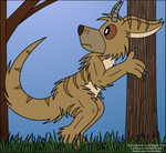 Woodland Creature-Digital Color by LordDominic