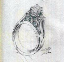 Ring sketch by SirDavis