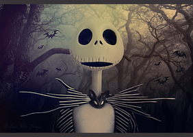 Jack Skellington by Aloha-Mermaid