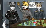 Meanwhile in the Bunker.. by RoverJack