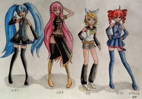 Girls Vocaloid by Vocaloid2743