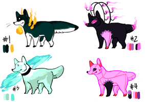 Body Horror Dogs 4 - Paypal or Points - OPEN by CrowieAdopts