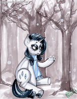 Sparkling winter day by MadBlackie
