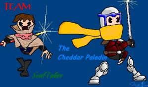 CP and Soultaker Smiley by cheddarpaladin