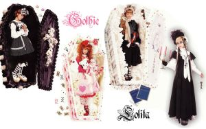 gothic lolita wallpaper 4 by guillaumes2