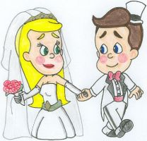 Jimmy+Cindy - Up the Aisle by nintendomaximus