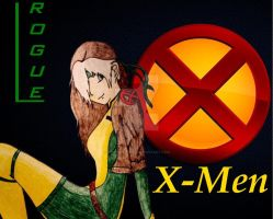 X-Men Rogue -Edited- by MasterFoxyy
