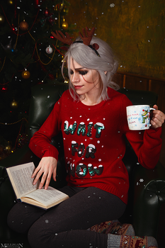 The Witcher - Christmas - Ciri by MilliganVick