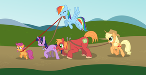 My Little Pony - Time for a Walk by copperpuppy