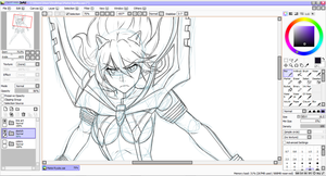 Matoi Ryuko - Kill la Kill (WIP) by point23