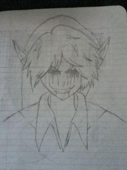 BEN Drowned Sketch by TuneoftheMoon