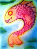 Pink Fish by loto7714