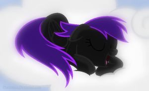 NightStar Sleeping by EctoPhantomiix