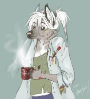 Ooh good morning -__- by SurgeonWolf