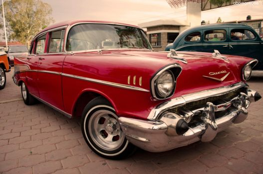 Chevrolet Bel Air 1957 by abomontage