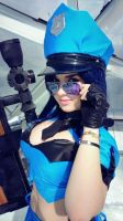 officer caitlyn cosplay league of legends by ValeeraHime