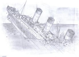 Titanic Sinking by Twisted-Things