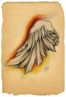 wing by vangoghtattoo
