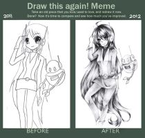 [Meme] Draw This Again (1) by mintdesuCommishes