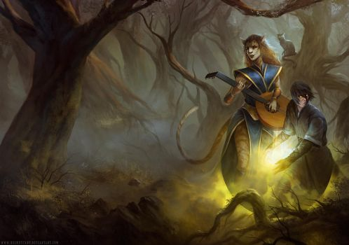 A Slave to Magic by HELMUTTT