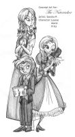 The Nutcracker: Siblings by roseandthorn