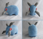 Elekk Plushie from World of Warcraft by Zaera