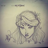 058 - Sketch Daily -02272015 by MCMcLamb