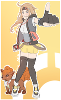 Mia. Pokemon Trainer OC. by MayaNara
