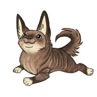 Eindae pup by lizspit