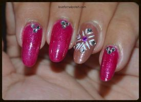 Snowflake by Gorgeousnails